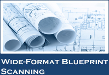 Wide-Format Blueprint Scanning